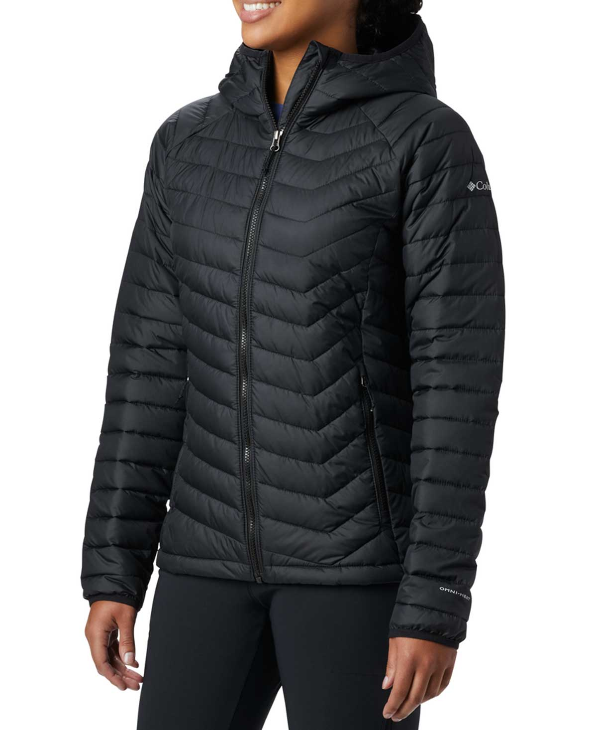Columbia Women's Powder Lite Hooded Insulated Jacket