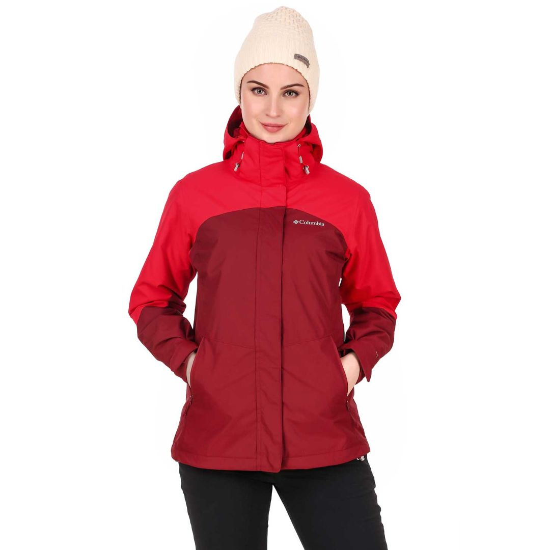 Columbia Women's Bugaboo II Hooded Fleece Interchange Jacket
